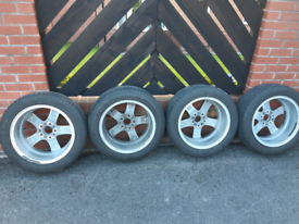 "2015 Genuine BMW F31 17"" inch alloy wheels with tyres"
