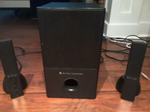 Alltec Lansing Surround sound for computers