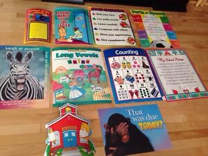 Educational photos for classroom or daycare