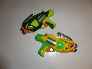 2 foam dart guns as a set