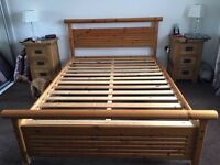Double bed soils pine immaculate also a single