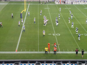 Argos/Lions Row 1, incl free CNE admission