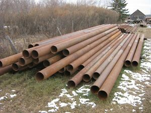 Large selection of new and used piling pipe for sale