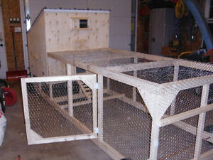 ROLLING CHICKEN COOP EASY AS 123