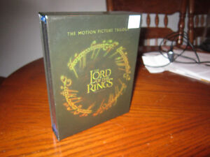 LORD OF THE RINGS  Trilogy On BLU RAY Box Set