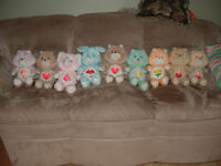 Care Bears - vintage bears, original from 1984 and a Nosy Bear