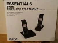 Twin Cordless Telephones From Currys