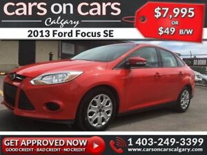 2013 Ford Focus SE  $49 B/W INSTANT APPROVAL, DRIVE HOME TODAY!
