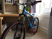 High specification Giant mountain bike
