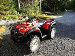 Parting out a 2004 Honda Rubicon Foreman 500