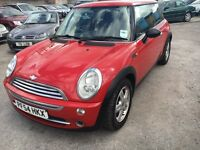 MINI ONE 1.6 PETROL MANUAL 2004