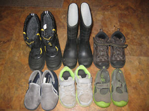 Toddler size 10 footwear lot