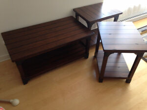 Set de 3 tables de salon - Livingroom 3 table set