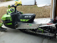 Trade: My 2011 Arctic Cat M8 SnoPro Ltd for Side X Side