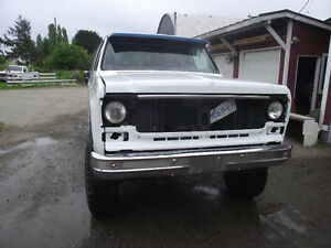 1978 GMC Sierra 1500 Pickup Truck 4X4 LIFTED RESTORED