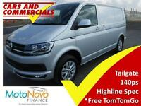 2016 16 VOLKSWAGEN TRANSPORTER T28 SWB HIGHLINE 140PS DIESEL