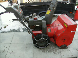"NOMA Heavy Duty Snowblower 8HP 27"" Wide"