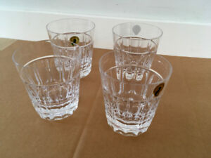 4 Waterford Crystal Tumblers in Mint Condition