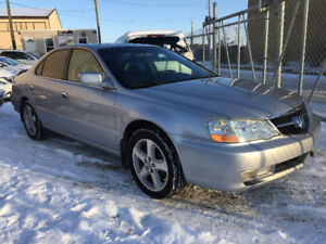 2003 ACURA TL S- TYPE 158301 KM FULLY LOADED CAR !