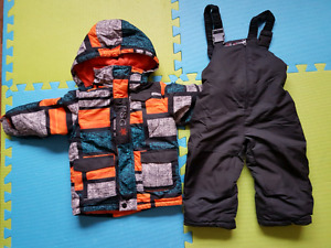 Toddler boy size 30 month winter jacket and snow pant
