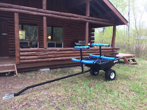 ATV Trailer (Customized to carry Kayaks or /Canoe)