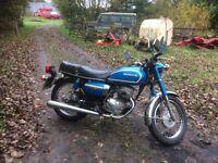 Honda 200 benly 1980