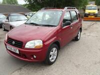 Suzuki Ignis 1.3 auto GL 5 DOOR HATCH AUTOMATIC ONLY 69,000 MILES