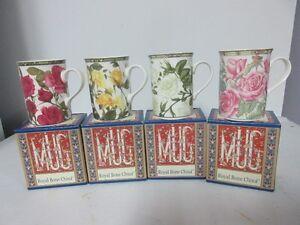 4 Mugs, Collector's series of four designs NOUVEAU PRIX