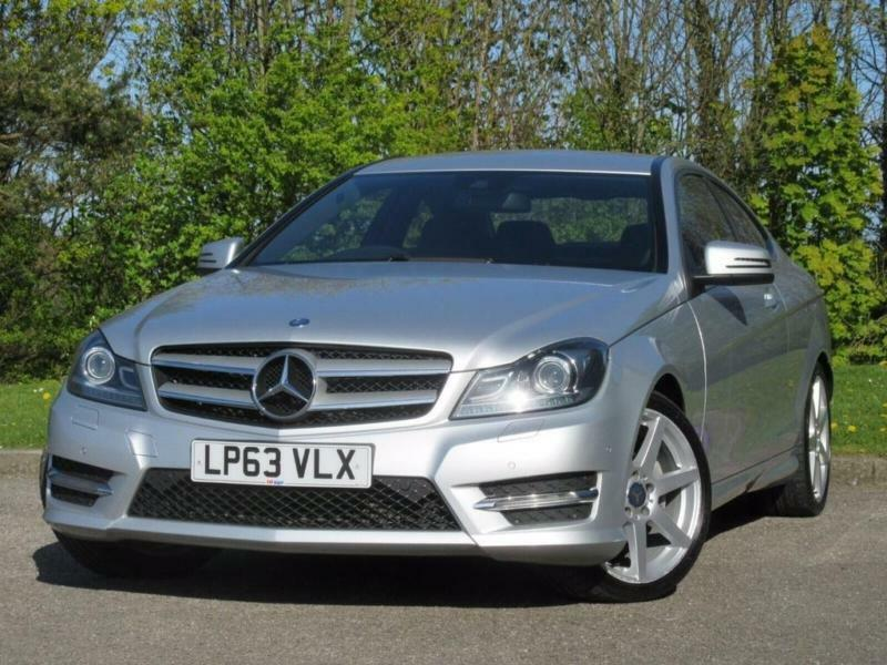 2014 mercedes benz c class 2 1 c220 cdi amg sport premium coupe 2dr in seaham county durham - Mercedes c220 amg sport coupe ...