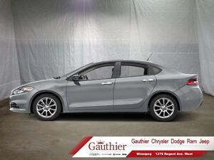 2016 Dodge Dart Limited w/Leather  Sunroof  - Low Mileage