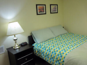 Private lower suite near SAIT, DT & Foothills/short or long stay