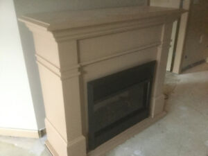Dimplex Eletric Fireplace with Mantel