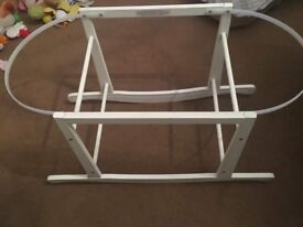 Moses basket with stand and memory foam matters
