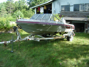 BOAT,16'vanguard bowrider.75 HPmariner LS,trailer.Update MAY 16