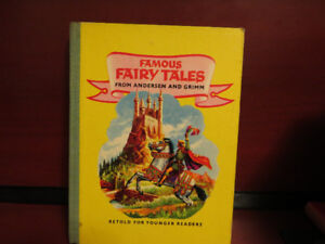 Famous Fairy Tales From Andersen Hans Grimm Retold For Younger R