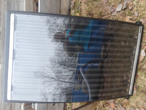Solar panel for heating pool