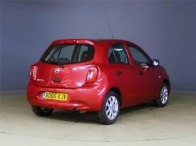 2016 NISSAN MICRA 1.2 Vibe 5dr