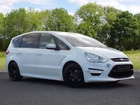 Ford S-Max 2.2 TDCi Titanium X Sport 5dr (white) 2012