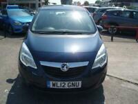 2012 Vauxhall Meriva 1.4T 120 Ecotec-4 Exclusiv MPV Petrol Manual