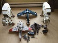 Huge Star Wars lot of figures and ships - $120 today only