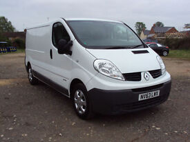 2013 63 Renault Trafic LL29dCi 115PS LWB 6 Speed