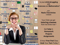 Math Tutors English Science Online home Tutoring - Muskoka