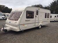 Bailey Pageant Bordeaux 4 Berth Fixed Bed Cheap Caravan