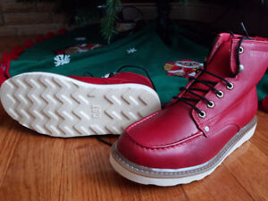CAT boots Brand New Red Size 11