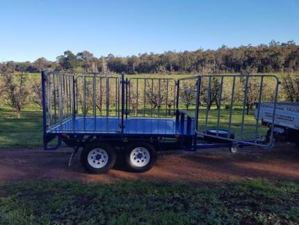 H/Duty NEW cartage trailer with gates