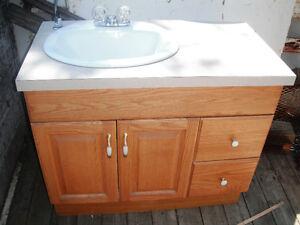 Used Oak Vanity  $175.00