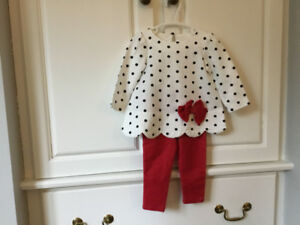 Infant Girl Outfit. Size 6-9 Months