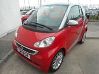 Smart Car Fortwo Coupe PASSION CDI (red) 2011