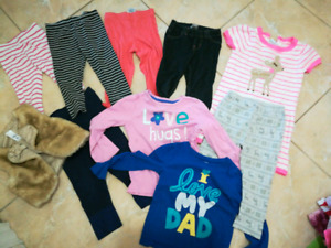 18-24 month girl winter fall lot