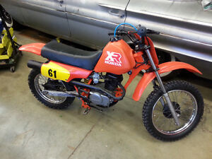 1986 Honda XR80R EXCELLENT SHAPE RUNS LIKE NEW!